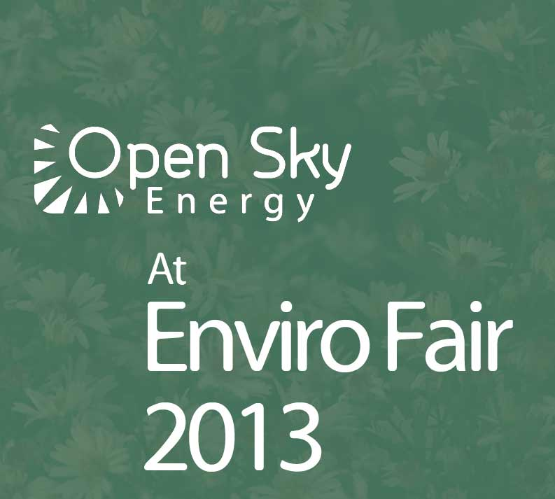 Open Sky Energy At Enviro Fair 2013