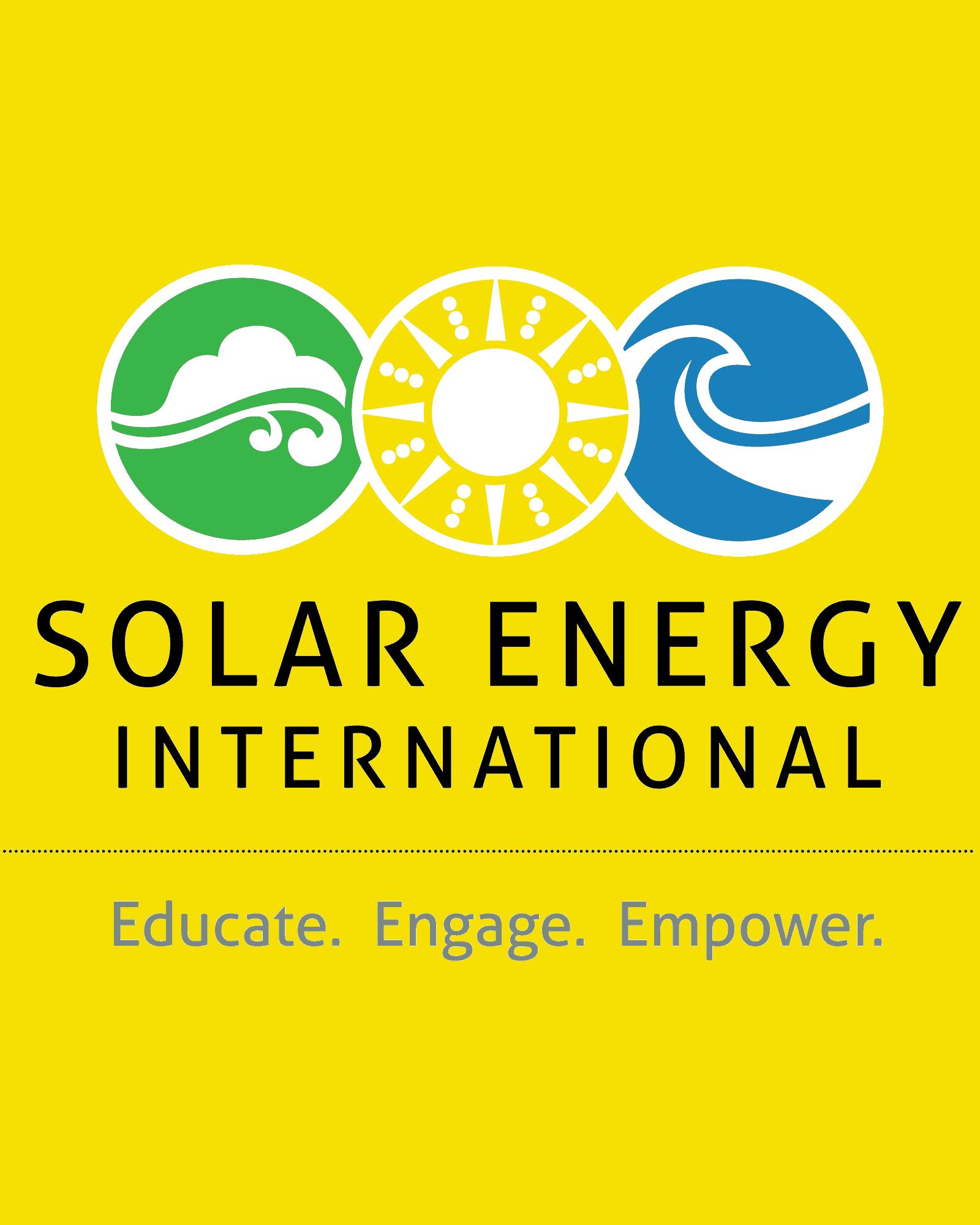 Open Sky Energy is SEI (Solar Energy International) certified.