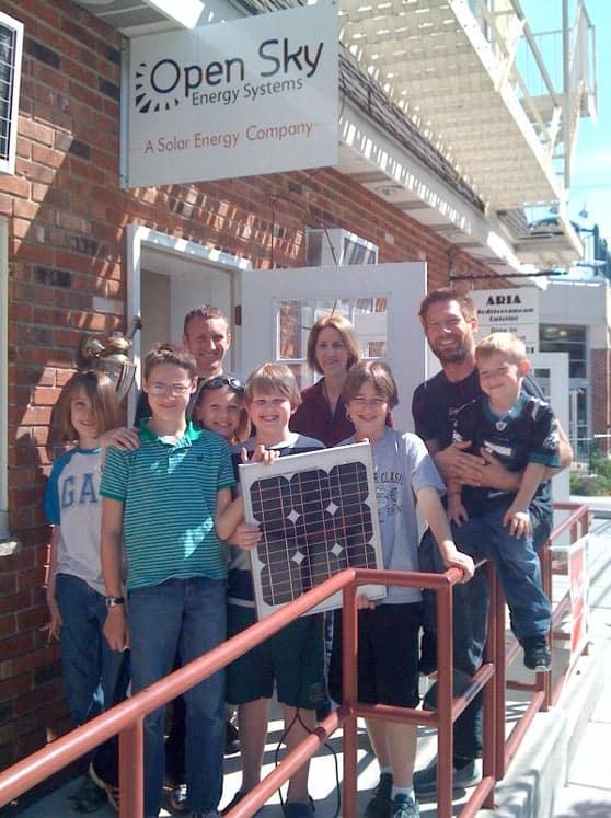 The Open Sky guys teach Swarthmore 5th graders about solar energy!